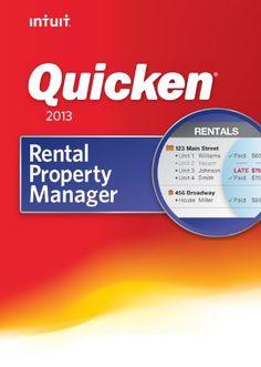 Quicken Rental Property Manager 2013 [Download]  for more details visit :http://software.megaluxmart.com/