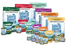 Natural Balance, great for dogs with allergies or in need of limited ingredient diets, grain free and made in the usa