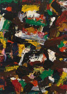 Al Held, Untitled, 1957