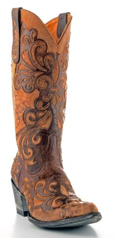 Womens Old Gringo Linda Boots Brass #L1025-4 $699.99