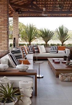 Terrace Design, Patio Design, Exterior Design, House Design, Backyard Retreat, Backyard Patio, Outdoor Living Rooms, Outdoor Spaces, Home Deco