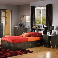 Modern design for boy bedroom