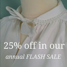 It's our birthday, and what a fabulous year we have had! As a Thank You, use code LilysFlash2016 to receive 25% off everything at the checkout, including this lovely bed jacket. Thanks for all of your support! Offer closes on 17th March 2016.