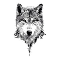 Tattoo designs · discovered by naïlou. find images and videos about art, dream and drawing on we Wolf Face Tattoo, Wolf Tattoos Men, Wolf Tattoo Sleeve, Badass Tattoos, Animal Tattoos, Finger Tattoos, Body Art Tattoos, New Tattoos, Hand Tattoos