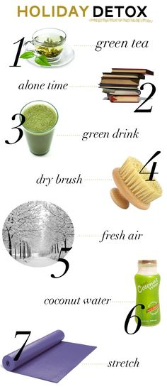 Simple Holiday Detox by thesparkle #Detox #Simple #Holiday
