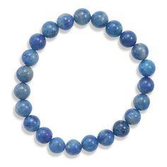 Lapis Bead Stretch Bracelet – 1Deebrand  #fashion #beauty #ladies #earrings #womensfashion #1deebrand