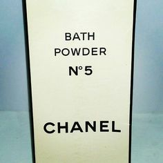 Check out this item in my Etsy shop https://www.etsy.com/ca/listing/514435650/vintage-chanel-no-5-bath-powder-talc