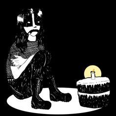 """krankenstern: """" Black Metal Birthday. """""""