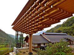 Kengo Kuma, Yusuhara Wooden Bridge