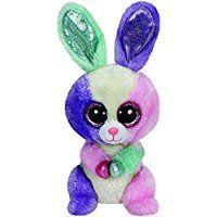 Ty - Beanie Boos - Bloom le lapin de Pâques - Peluche 15 cm