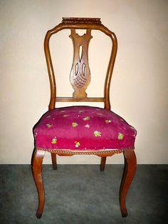 Renueva tu silla clásica y dale un toque de color