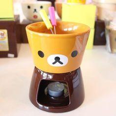 Rilakkuma Chocolate Fondue Set #kawaii