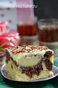 Fun Desserts, Delicious Desserts, Polish Recipes, Polish Food, Tiramisu, Cheesecake, Good Food, Food And Drink, Healthy Recipes