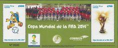 COSTA RICA WORLD CUP FIFA 2014, COPA MUNDIAL de la FIFA Sc 661 MNH 2014  | eBay