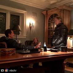 "#Repost @nbctv with @repostapp. ・・・ ""Sash and I talk Biest Family Values with director Terrence O'Hara. #RBF #Grimm100 (photo credit: our VFX guru Gary Parks)"" - @clairecoffee #Grimm"