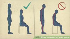 Image titled Warm up Your Voice Step 1 Vocal Warm Up Exercises, Workout Warm Up, Image Title, Your Voice, Singing, Musica, Warm Up Exercises