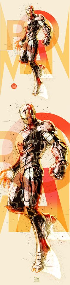 Iron man poster by janovelty