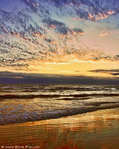 South Padre Island Saturday Morning Sunrise by tropicdiver, via Flickr