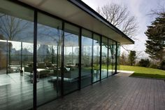glass house by : manser practice architects 7 Beautiful Architecture, Architecture Details, Interior Architecture, Interior Design, Glass Extension, Rear Extension, Property Design, Aluminium Doors, Grand Designs
