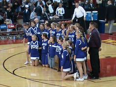 Second place in three-A.  Way to go Lady Dutch at the state tournament.