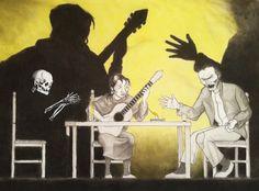 Ilustración, Seisdedos, Flamenco, Soleá