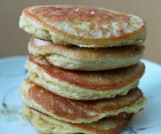 Grain Free Coconut Flour Pancakes (GAPS, Paleo) - eggs, coconut flour, coconut oil
