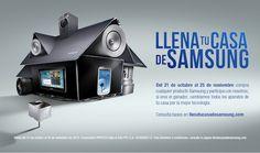Llena tu casa de Samsung en 150 caracteres ¡Promoción!