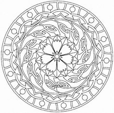 Coloring Pages Special Mandala