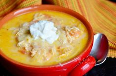 Homemade Creamy Chicken Enchilada Soup - Will Cook For Smiles