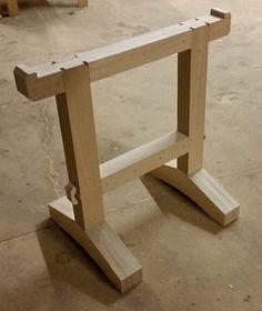 Timber Frame Sawhorse Google Search Timber Framing