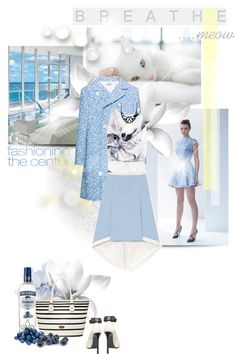 """Blueberry Delight"" by hatsgaloore ❤ liked on Polyvore"