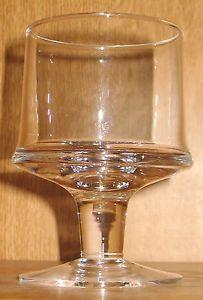 3 Vintage iittala Tapio Wirkkala Marski Water Goblets Stemmed Glasses Finland EC