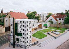 Open-air Library by KARO - Dezeen