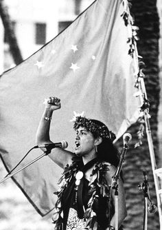 Haunani-Kay Trask-Ed Greevy Environmental Justice, Great Women, Tahiti, Revolutionaries, Cool Kids, Art Drawings, Hawaii, Design Inspiration, Culture