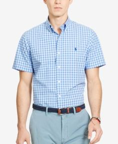 POLO RALPH LAUREN Polo Ralph Lauren Men'S Tattersall Poplin Sport Shirt. #poloralphlauren #cloth #down shirts