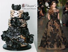 Elie Saab Fashion Cake - Chantal's Cakes and Desserts