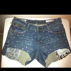 More old jeans I vamped up