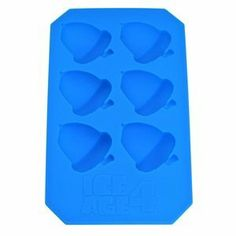 Cosmos ® Blue Nut Ice Cube Tray/ Pop Molds With Cosmos Fastening Strap by Cosmos. $6.57. Each tray produces 6 perfect nut ice cubes. Easy to clean, dishwasher safe durable food-grade silicone allows easy removal of    the cubes. With Cosmos Fastening Strap. Made of silicone. Product Dimensions: 6.6 x 3.9 x 0.8 inch. These ice pop molds are made of silicone; it's safe and very durable, and easy to clean.