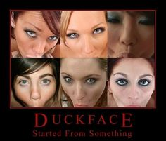 Duckface // funny pictures - funny photos - funny images - funny pics - funny quotes - #lol #humor #funnypictures