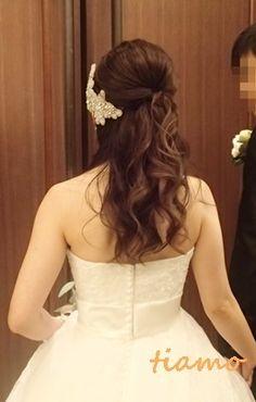 ドレスから和装にチェンジ♡可愛い花嫁さまの素敵な一日  大人可愛いブライダルヘアメイク『tiamo』の結婚カタログ
