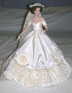 Jackie Kennedy Bride Franklin Mint