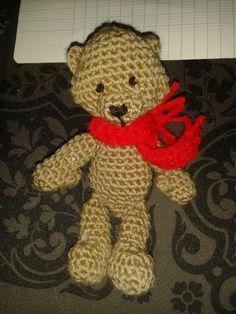 Bear, keyring, magnet AmiguruMINE - Crochet - AmiguruMINE ! Mes Amigurumis crochet