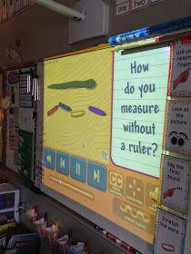 Mrs. Wheeler's First Grade Tidbits: Non-Standard Measurement