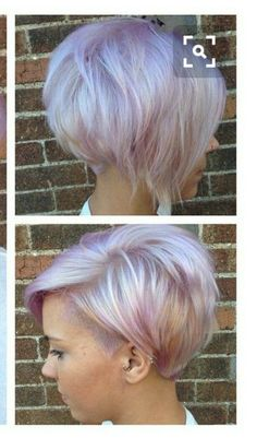 26 Cool Asymmetrical Bob Hairstyles Love the shape of this minus the shaved side. The wispies in front would probably drive me nuts The post 26 Cool Asymmetrical Bob Hairstyles appeared first on Barbara Ritchie. Pixie Haircut For Thick Hair, Short Hair Cuts, Short Hair Styles, Short Pixie, Asymmetrical Pixie, Pixie Cuts, Pixie Bob, Girls Short Haircuts, Short Hairstyles For Women