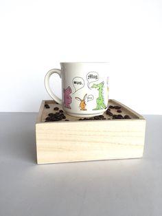 Sandra Boynton Animals Saying 'Mug' Mug by SandHollowVintage