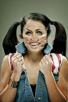 Distorção de pessoas com fita adesiva | Criatives | Blog Design, Inspirações, Tutoriais, Web Design