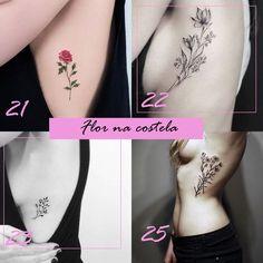 Inspiração: + 50 tatuagens de flores para se inspirar e tatuar
