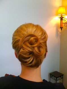 Possible bridesmaid hair.