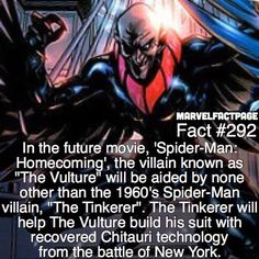 Vulture/ Tinkerer/ Spider-man: Homecoming fact. QOTD: How excited are you for…