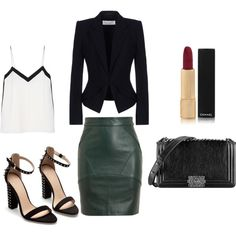 """""""Go green"""" by kandyzz on Polyvore"""